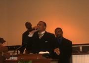 Elder Tyquan Sparks preaching