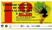 1º SIMPÓSIO NACIONAL DE SAÚDE DA POPULAÇÃO NEGRA E HIV-AIDS