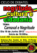 Ciclo de Debates: Negritude Cultura e Cidadania.