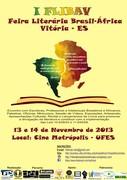 I FLIBAV - Feira Literária Brasil-Àfrica, em Vitória-ES