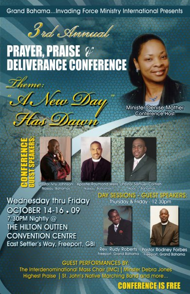 3rd Annual Prayer, Praise and Deliverance Conference 2009