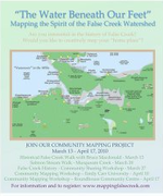 """""""Water Beneath Our Feet"""" - Mapping the Spirit of the False Creek Watershed"""