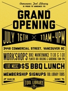 Vancouver Tool Library - Grand Opening