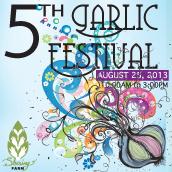 5th Annual Garlic Festival