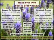 Make Your Own Face & Body Creams Series