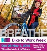 Bike to Work Week | Fall 2015