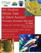 Art Studios 18th Annual Winter Sale and Silent Auction