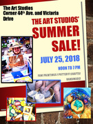 The Art Studios Summer Sale