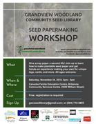 Seed Paper Making Workshop