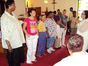 confrimation before baptism