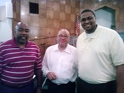 Deacon Taylor, Pastor Shepherd and Rev. Kyle Jones during Vacation Bible School (2010)