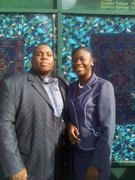Me and Minister Myketrail Tyson