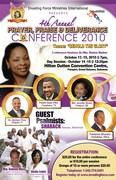 4th Annual Prayer Praise & Deliverance Conference