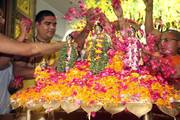 Sri Ram Navami Maha Abhishek at ISKCON Delhi on 14 April 2019
