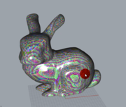 grasshopper GLSL realtime 80,000 faces with Phong shading