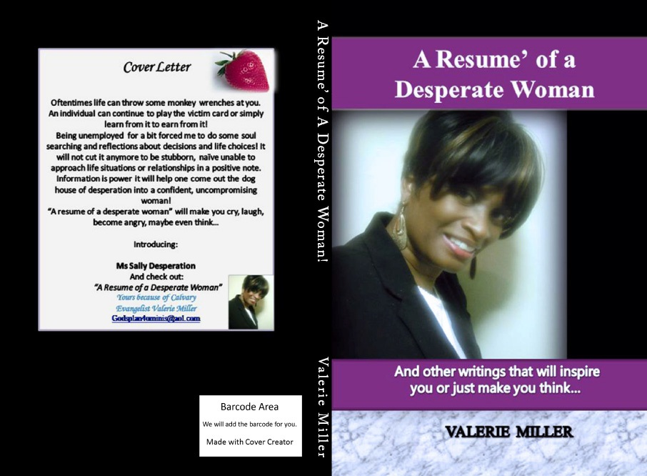A Resume of a Desperate woman_BookCover preview 5_11_2011