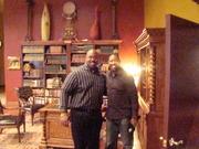Pastor Wayne Allen and Pastor R.A Vernon
