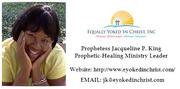 PROPHETIC-HEALING MINISTRY