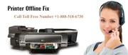 Printer offline Fix Call Toll Free Number +1-888-518-6730