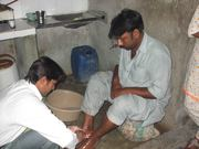 Easter 2011 / Feet wash (John 13:14)