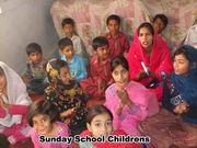 Mrs.Sumera Asif worship with childrens