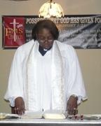 pastor white robe