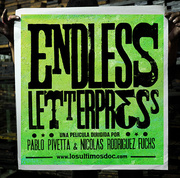 Los Ultimos: Endless Letterpress