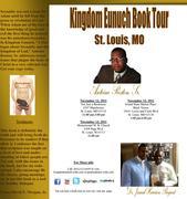 Kingdom Eunuch Book Tour St. Louis eblast