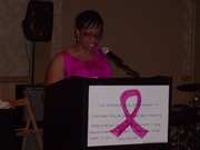 Pastor Adrianne Robinson speaking at The SOPWC