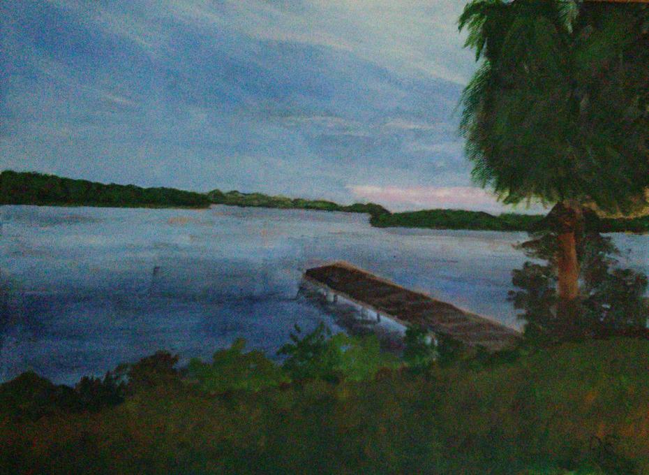 Awaiting the Sunset on the Braden River