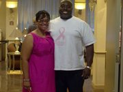 Edward & Adrianne Robinson, Co-Founders/Co-Pastors, Plain Faith Ministry at The 2011 Shades of Pink Women's Conference