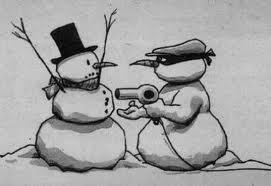 Snowman robbery