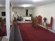 Sanctuary after renovations