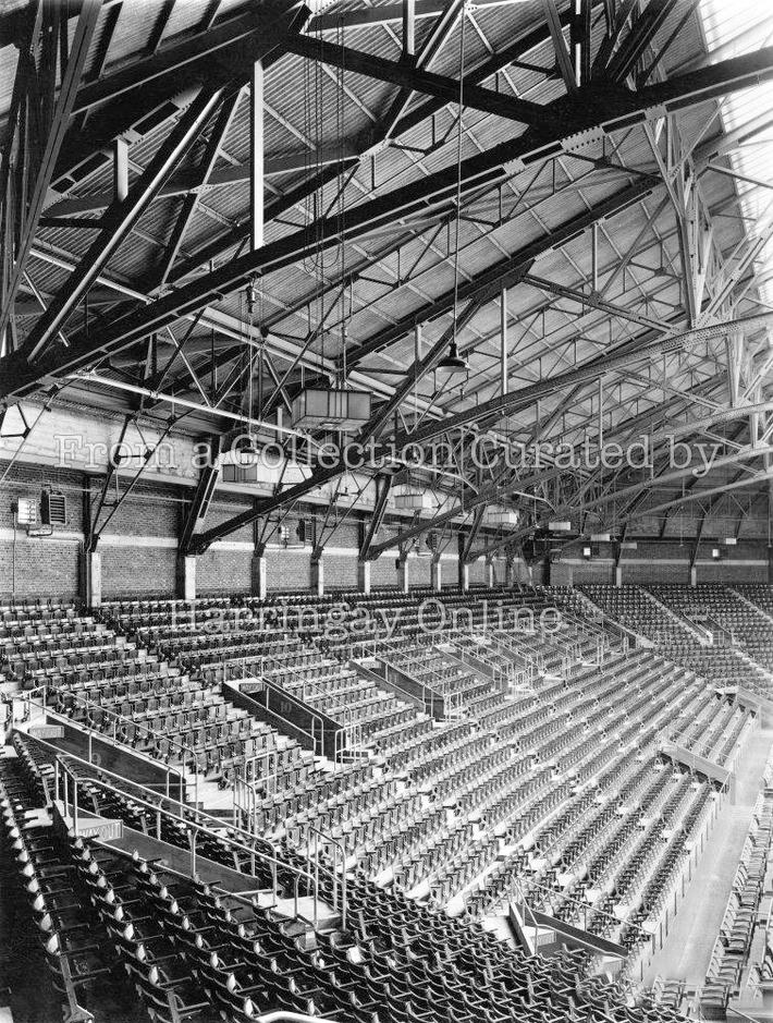 Harringay Arena Interior, 1936