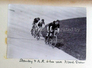Six-hour Race, Wood Green Cycle Track, 1897