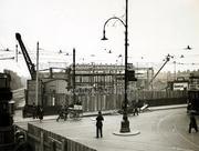 Turnpike Lane Tube Station under Construction, c1931
