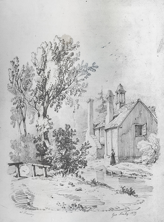 """Cottage"" in Hornsey, 1829"