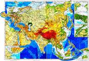 Карта на Евразия ІІ вариант  2