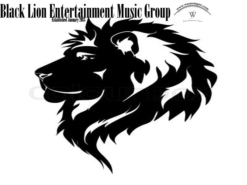 Black Lion Entertainment Music Group OFFICIAL LOGO