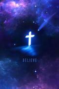 Lit Cross...Believe