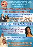Prophetic Impartation Fellowship Service, Newark NJ