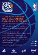 NBA 3X basketball event, Ducketts Common