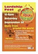 LORDSHIP FEST 20th SEPT 12-6
