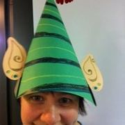 Christmas crafts at Stroud Green and Harringay Library: Make a Festive Hat