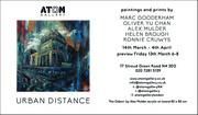Urban Distance at Atom Gallery