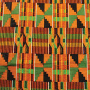 Kente Cloth inspired paper mat weaving @Stroud Green and Harringay Library