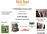 Kickstart - free drop in with @CrutchHaringey