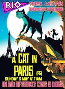 Stokey Cats fundraiser screening of the film A Cat in Paris