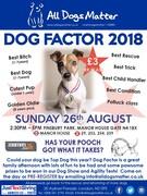 Dog Factor 2018 - All Dogs Matter