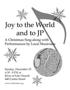 Joy to the World and to JP